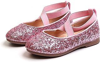 U/D Mary Jane Fille Chaussures étudiants Ballerines de Princesse Fille Chaussures pour Mariage, et Formel Party Chaussures