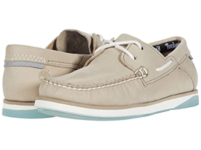 Timberland Atlantis Break Boat Shoe (Light Taupe Nubuck) Men