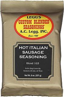 A.C. Legg Hot Italian Sausage Seasoning