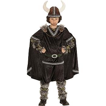 WIDMANN 05987 Infantil Disfraz Vikingo, Superior, Pantalones ...