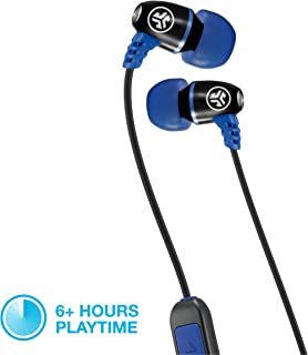 JLAB JLab Audio Metal Bluetooth Wireless Rugged Earbuds | Titanium 8mm Drivers | 6 Hour Battery Life | Noise Isolation | B...