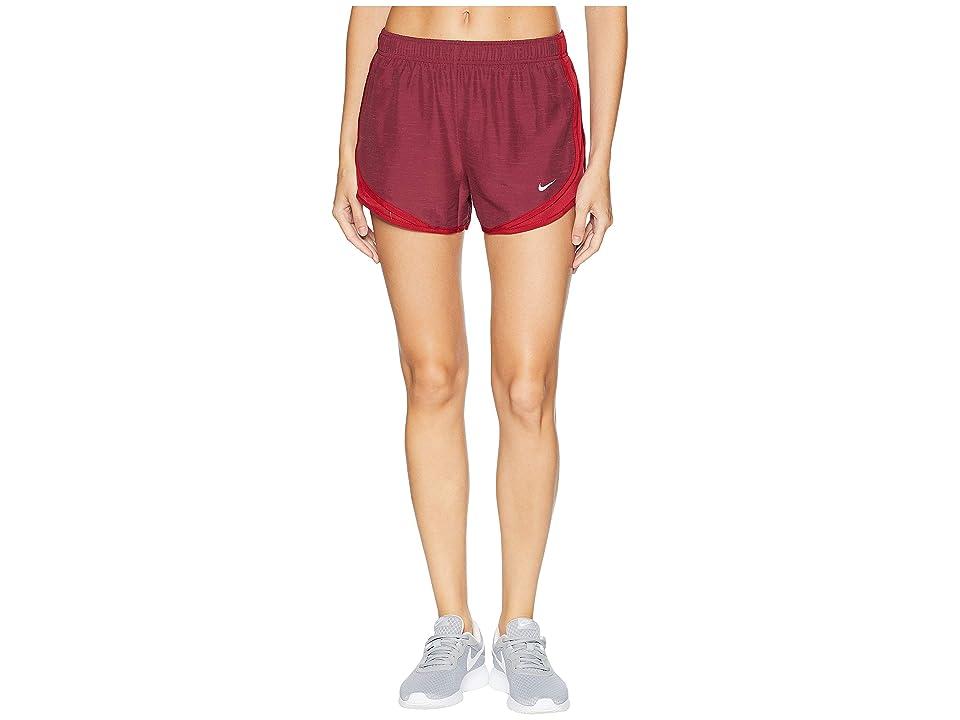 Nike Dry Tempo Short (Red Crush/Red Crush/Red Crush/Wolf Grey) Women