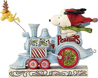 "Enesco Peanuts by Jim Shore Figurine, 6000987, Stone Resin, Multicolor, 4.65"""
