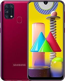 Samsung 64 GB Galaxy M31 Smartphone, Tysk Version, Röd