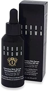 Bobbi Brown Intensive Skin Serum Foundation SPF 40 02 Sand for Women, 1 Ounce