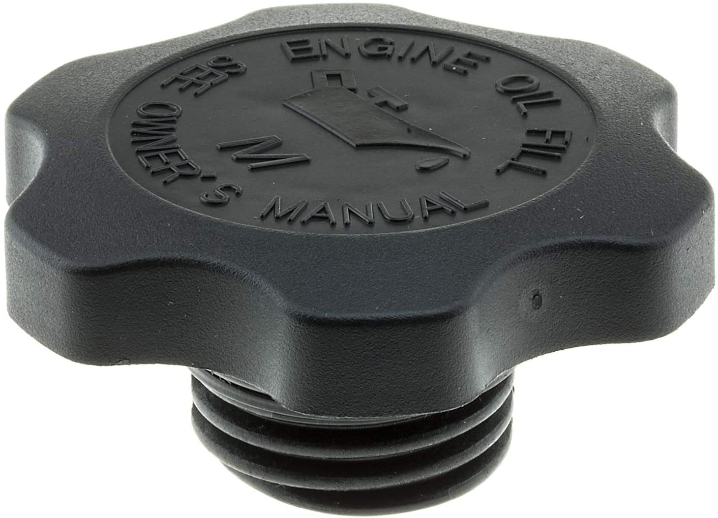 Harley 1965-99 Polished Pointed Oil Cap for 1-1//4 inch