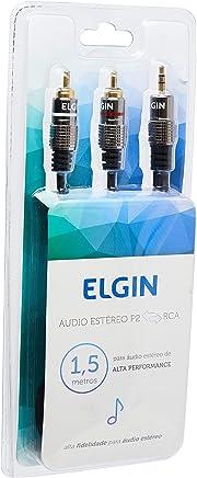 Cabo de Audio Tipo P2 RCA de 1.5 Metros, Elgin