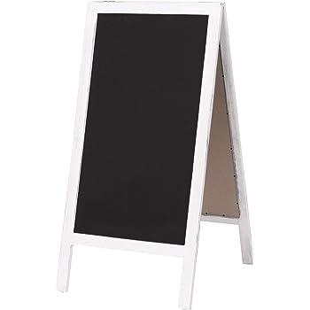 Kundenstopper Aufsteller Kreidetafel Holzaufsteller beidseitig Holztafel 3 Farbe