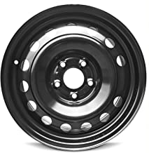 Road Ready Car Wheel For 2014-2019 Kia Soul 16 Inch 5 Lug Black Steel Rim Fits R16 Tire - Exact OEM Replacement - Full-Size Spare