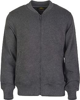 Men's Classic Casual Sportswear Full Zip Up Bomber Jacket