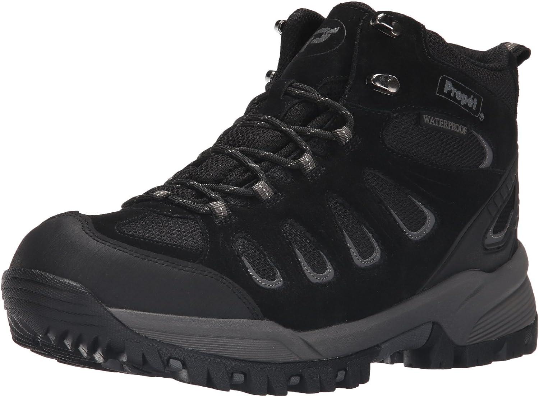 Propét mens Ridge Walker National products Hiking X-Wide 15 Black US Elegant Boot