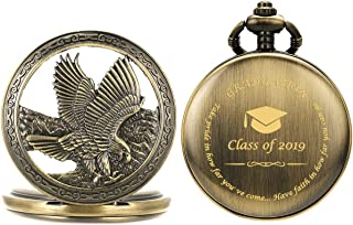 Best silver eagle pocket watch Reviews