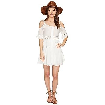 BB Dakota Marla Cold Shoulder Dress (Ivory) Women
