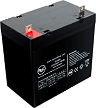 Leoch LP12-55 Sealed Lead Acid - AGM - VRLA Battery - This is an AJC Brand Replacement