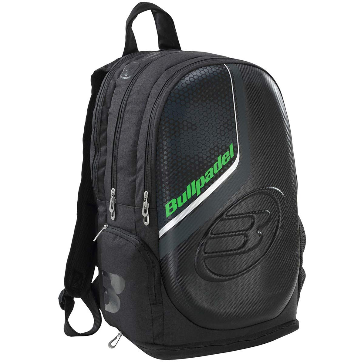 Bull padel Mochila BULLPADEL Tech BPM-19001 Negro: Amazon.es ...