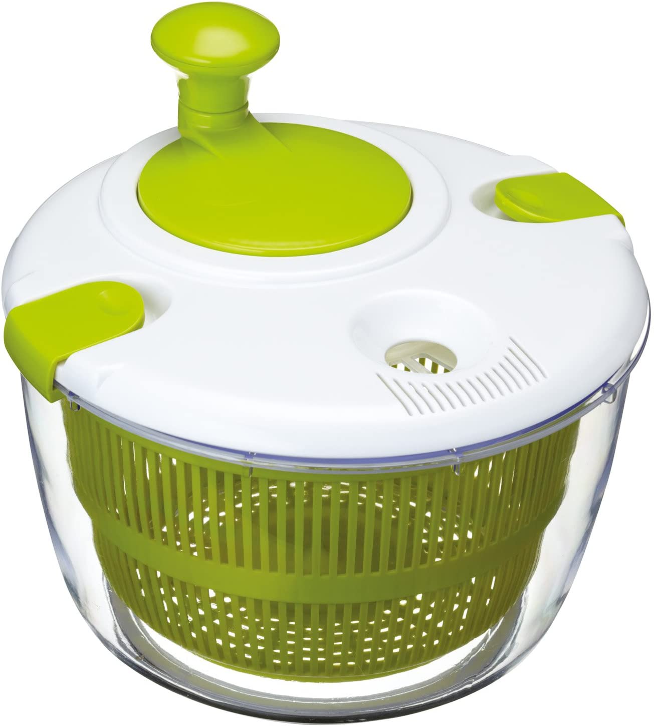 Kitchen Craft Deluxe Salad Spinner and Dresser overseas Gift in BPA Box Daily bargain sale