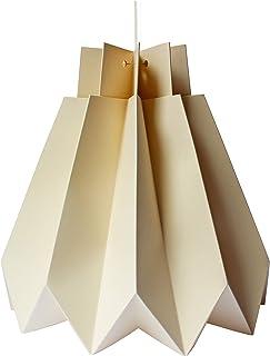 Sospensione di origami DIY in carta vaniglia