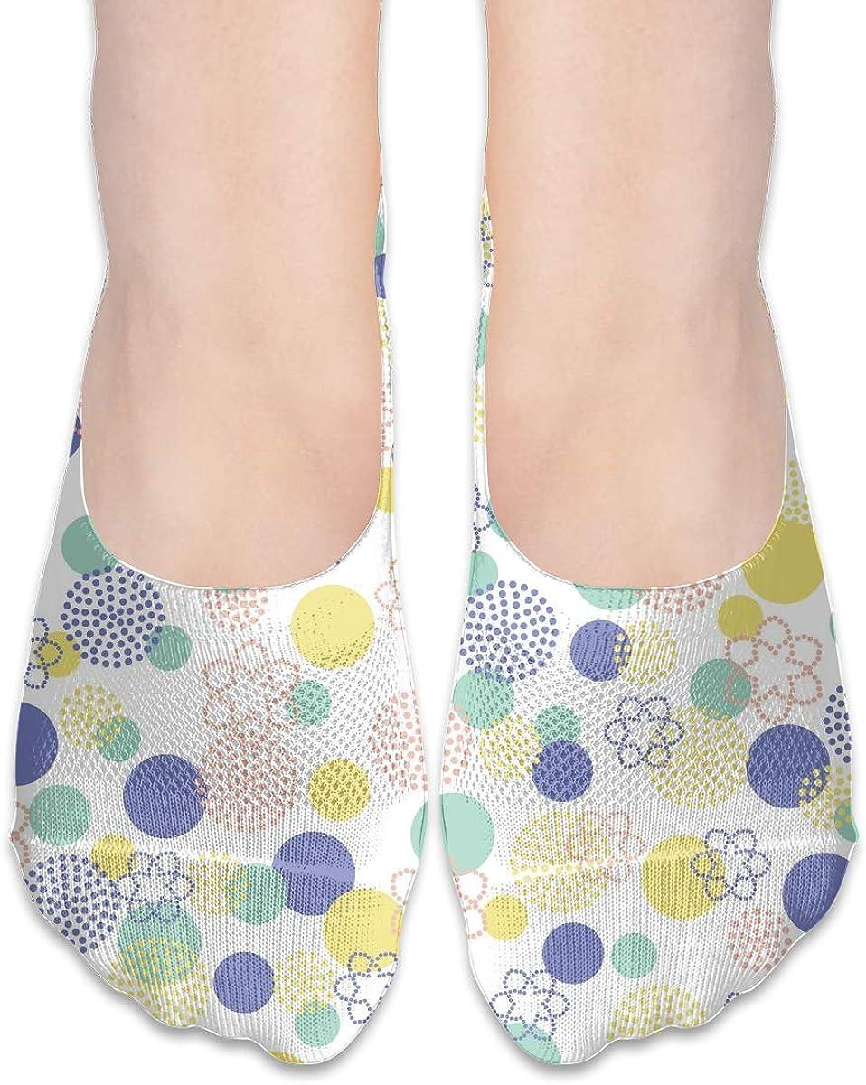 No Show Socks Women Men For Hipster Flower Classic Floral Flats Cotton Ultra Low Cut Liner Socks Non Slip