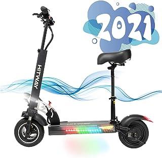 SOUTHERN WOLF Elektrisk skoter med 45 km/h 800 W motor 45 km/h 10 Ah vaxning, elektrisk skoter vikbar elektrisk skoter för...