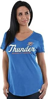 Large 7 NBA Oklahoma City Thunder Kids /& Youth Boys Motion Offense Short Sleeve Performance Tee Dark Navy