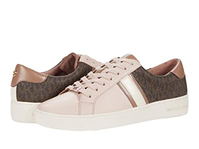 MICHAEL Michael Kors Irving Stripe Lace-Up (Soft Pink) Women