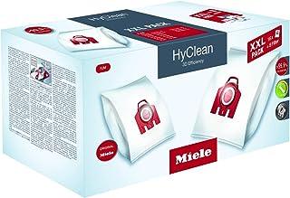 Miele 10408420 XXL Pack Hyclean 3D FJM Boîte de Sac d'Aspirateur 4 Pièces