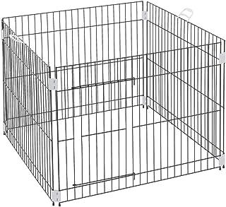 Ferplast Puppy fence DOG TRAINING indoor fence, folding mesh, Anti-slip feet, Sturdy coated metal, Ergonomic handles, 80 x...