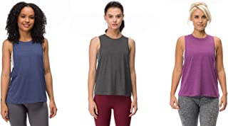 I AM BECOMING Cali Flow Woman's Wide Arm-Hole Seemed Back Muscle Tank