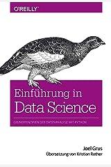 Grus, J: Einführung in Data Science Hardcover