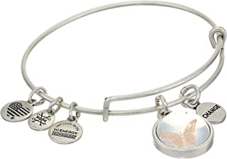Alex and Ani Duo Charm Mantra Bangle Bracelet