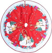 KESYOO Christmas Tree Skirts 36 Inch Christmas Tree Carpet Tree Mat Tree Collar Xmas Party Ornament for Holiday Christmas ...