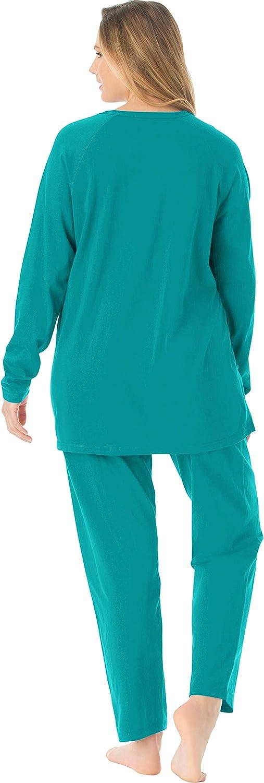 Dreams & Co. Women's Plus Size 2-Piece Lounge Set Pajamas