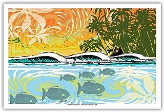 hawaiian fish prints