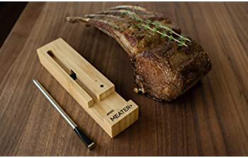 MEATER Plus | 165ft Long Range Smart Wireless Meat Thermometer for the Oven Grill Kitchen BBQ Smoker Rotisserie with ...