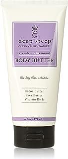 Deep Steep Classic Body Butter, Lavender Chamomile, 6 Fluid Ounce