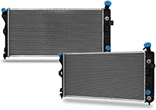 CU2343 Radiator Replacement for Chevrolet Impala Custom Monte Carlo Buick Century Regal V6 3.1L 3.4L 3.8L GM3010102 52485608 52401486 52472846 GM3010104