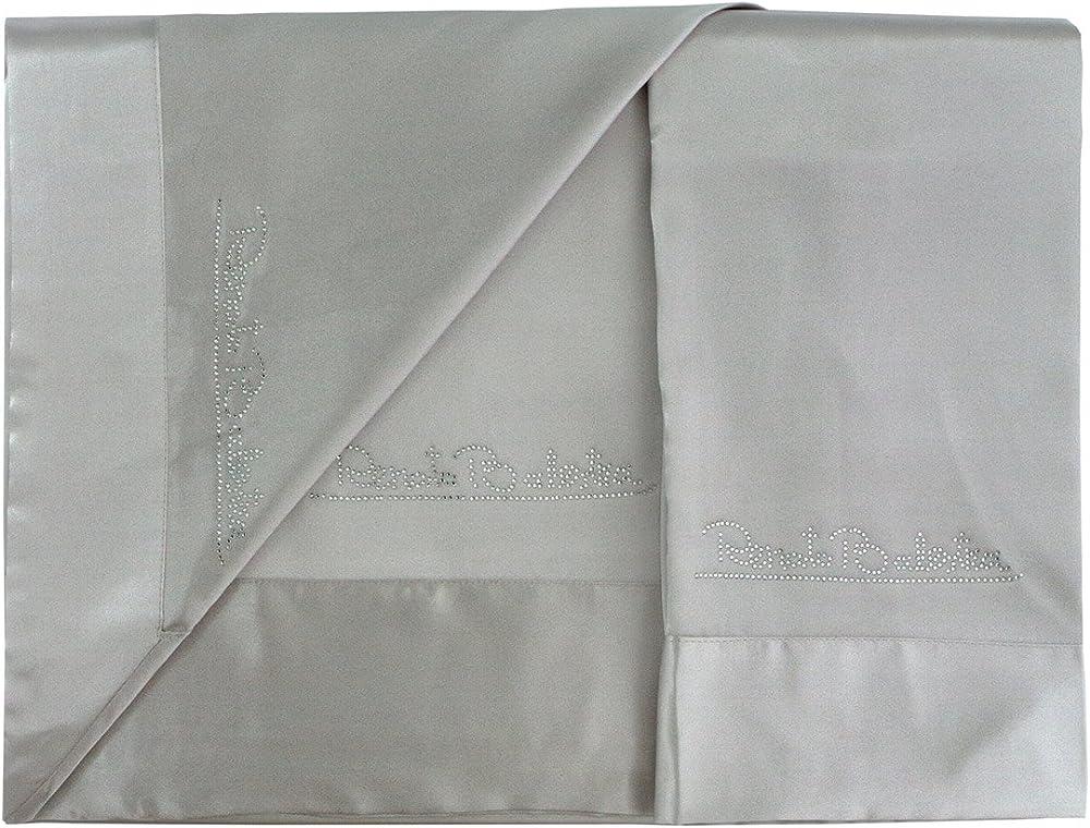 Renato balestra, completo lenzuola matrimoniale in raso A862