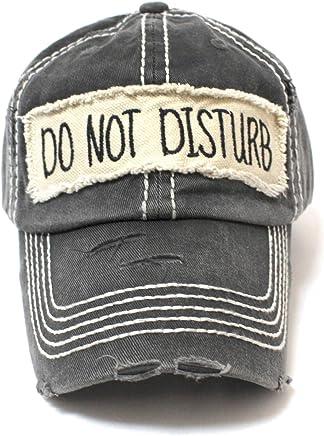 Graphite BLK DO NOT Disturb Patch Ballcap 568425f1a26d