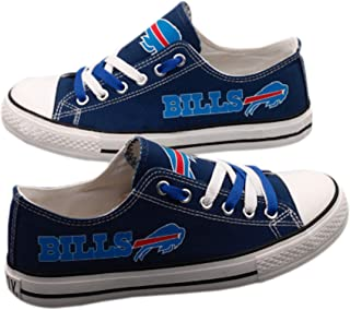 Jungle Co. Football Team Shoes- Team Shoes- Sportswear Canvas Shoes Womens Sizing- Football Team Sneakers- Football Team Accessories Athletic Shoes