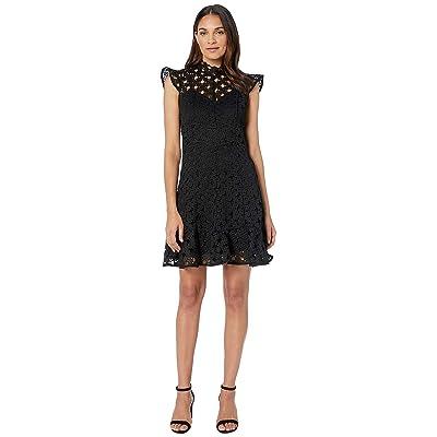 Bardot Mila Lace Dress (Black) Women