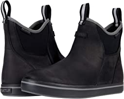 Leather Ankle Deck Boot