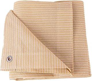 SHIJINHAO Shading Net Shade Sail Pergola UV Protection Shadow Cover Edge Stitching With Metal Hole Polyethylene, 16 Sizes ...