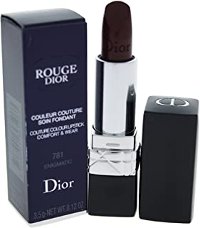 Christian Dior Rogue Couture Colour Comfort & Wear Lipstick for Women, Enigmatic, 0.12 Ounce