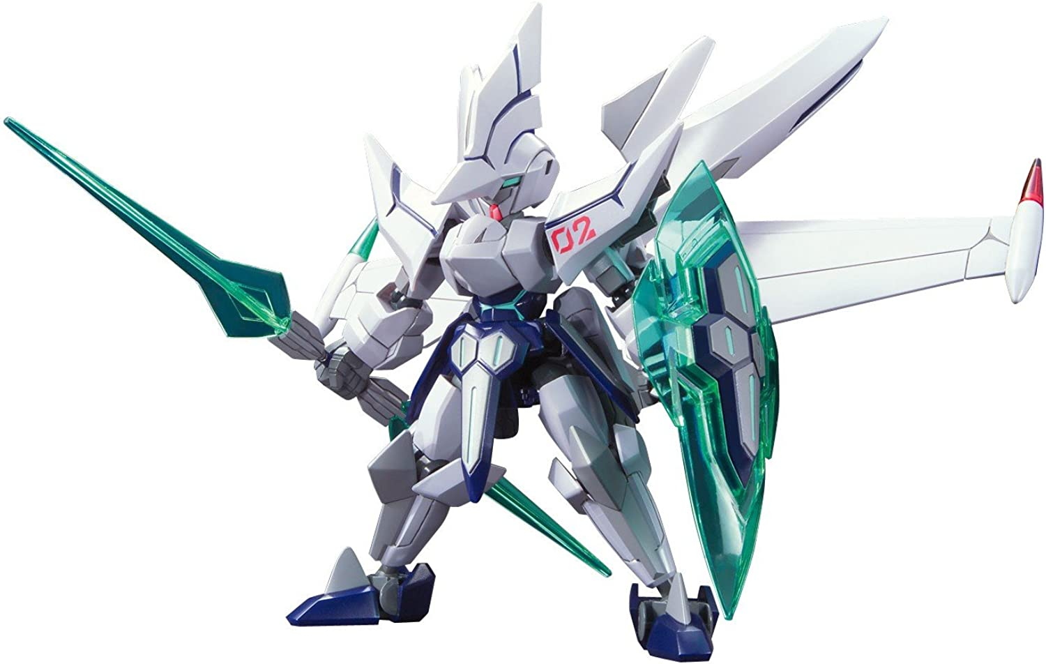 Little Battlers eXperience W - LBX 038 Odin Mk-2 (Plastic model)