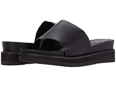 Eileen Fisher Touch (Black Leather) Women