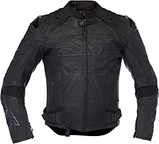 Speed and Strength Revolt Men's Street Motorcycle Jacket - Black/X-Large