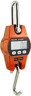 Outmate Mini Digital Crane Scale 300kg/600lbs with LED (Plastic Shell,Orange)