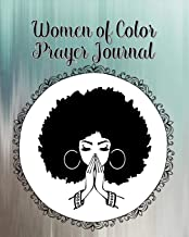 Women of Color Prayer Journal: 60 days of Guided Prompts and Scriptures | Blue Gray | Praying
