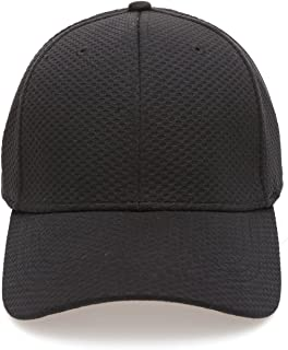 Plain Polyester Twill Baseball Cap Hat with Flex fit Elastic Band