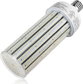 160W LED Corn Bulbs, Cool White 6000K 21,600LM Cob Light E39 Mogul Base LED Retrofit Lamp Replace 750W Mercury Vapor for Commercial Factory Warehouse High Bay Gym Garage Workshop Barn Lighting UL DLC